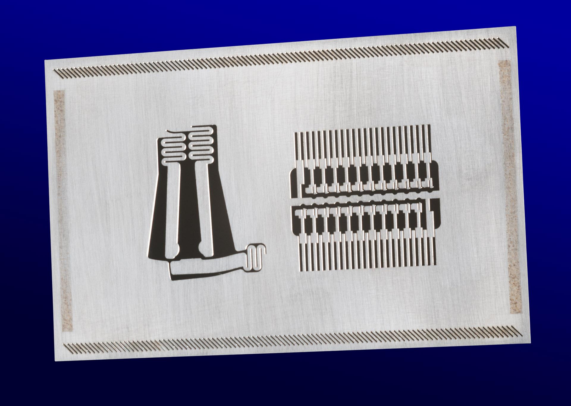 Laser cutting fabrication